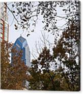Fall In Philly Canvas Print