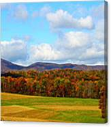 Fall In Rocky Mount Canvas Print