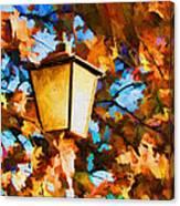Fall In The Air Canvas Print