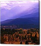 Fall In The Bitterroot Valley Canvas Print