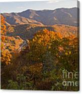 Fall In The Smoky Mountains Canvas Print