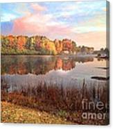Fall In Traverse City  Canvas Print