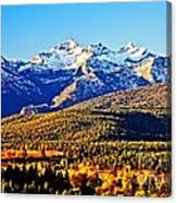 Fall In Montana Canvas Print