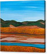 Fall Marsh Canvas Print