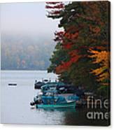 Fall On Little Squam Canvas Print