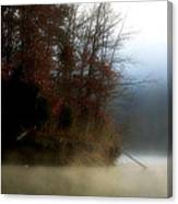 Fall On Melton Hill Lake II Canvas Print