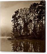 Fall On Melton Hill Lake V Canvas Print