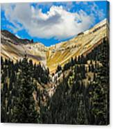 Fall On Red Mountain Pass Canvas Print
