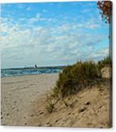 Fall On The Beach Canvas Print
