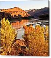 Fall On The Colorado Canvas Print