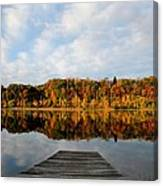 Fall On The Lake Canvas Print