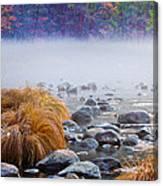 Fall On The Merced Canvas Print