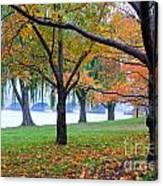 fall on the Potomac River Canvas Print