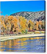 Fall On The Snake River Canvas Print