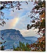 Fall Rainbow Canvas Print