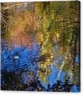 Fall Reflexion Canvas Print