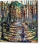 Fall Ride Canvas Print