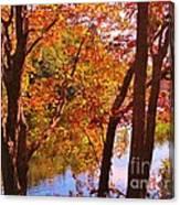 Fall River Nova Scotia Canvas Print