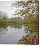 Fall River Park Canvas Print