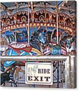 Fall River Ride Exit Canvas Print
