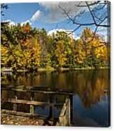 Fall Scene Canvas Print