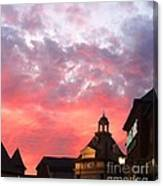 Fall Sky Canvas Print