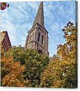Fall Steeple Canvas Print