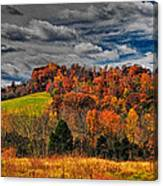 Fall Storm Canvas Print