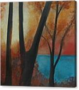 Fall Sun Canvas Print