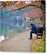 Fall Thoughts Canvas Print