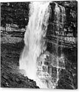 Waterfall Under The Bridge Canvas Print