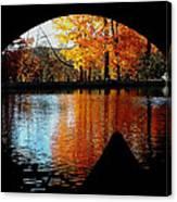 Fall Under The Bridge Canvas Print