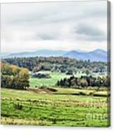Fall Vermont Landscape Canvas Print