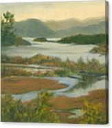Fall View From Boscobel Canvas Print