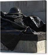 Fallen Artilleryman Canvas Print