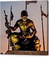 Fallen Soldier 2 Canvas Print
