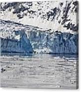 Falling Glacier Canvas Print