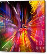 Falling Into Glass Canvas Print