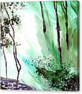 Falling Light Canvas Print
