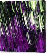 Falling Purple Canvas Print