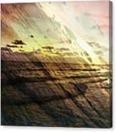 Falling Sky Siesta Key Canvas Print