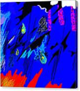 Falling Through Lightness  Canvas Print