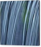Falling Water Up Close Canvas Print