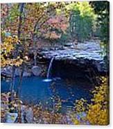 Falling Water Waterfall Canvas Print