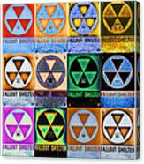 Fallout Shelter Mosaic Canvas Print