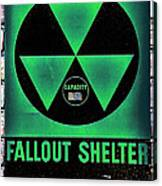 Fallout Shelter Wall 1 Canvas Print