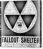 Fallout Shelter Wall 10 Canvas Print