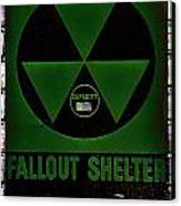 Fallout Shelter Wall 4 Canvas Print