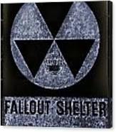 Fallout Shelter Wall 5 Canvas Print