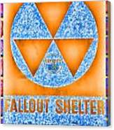 Fallout Shelter Wall 7 Canvas Print